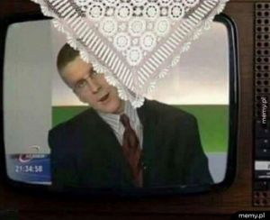 Telewizor u babci