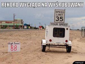 Pomiar prędkości.