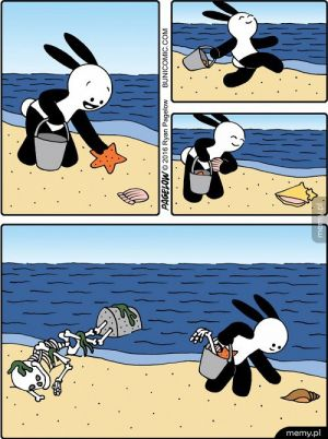 Piękny dzień na plaży :)