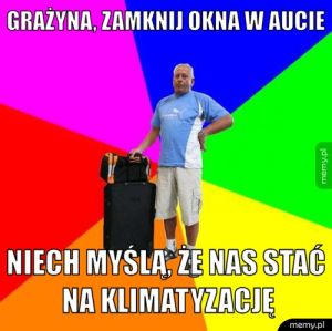 Typowy Janusz.