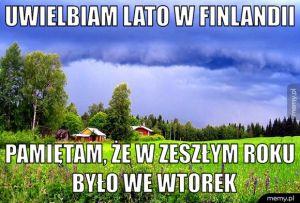 Fińskie lato to magiczna pora