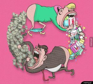 Konsumpcjonizm.