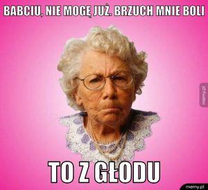 Typowa babcia.