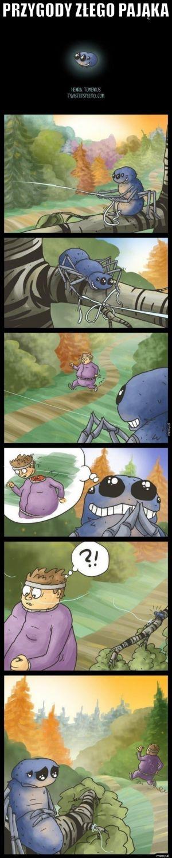 Przygody złego pająka