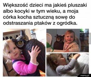 Dziewczynka i jej Sowa