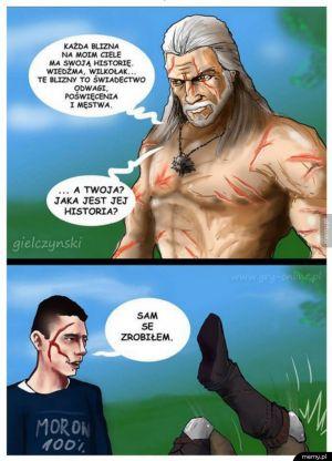 Biedny Geralt