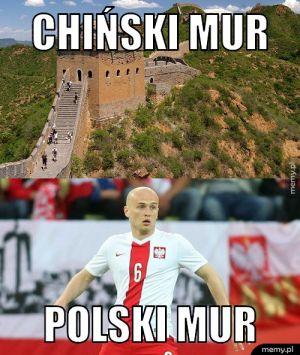 Polski mur wygrał
