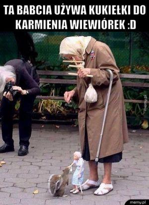 Świetna babcia!
