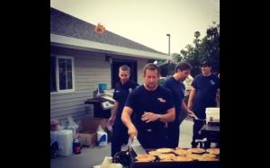 Strażacy robią najlepsze naleśniki