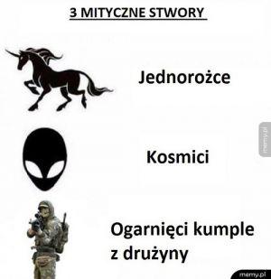 3 mistyczne stwory