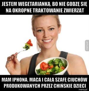 Typowa wegetarianka