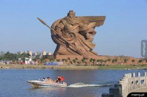 Chiny - Bóg wojny (Guan Yu)