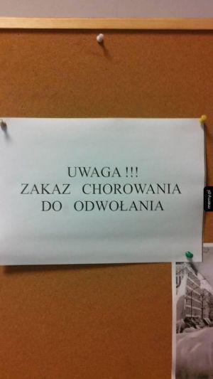 Tablica ogłoszeń w pracy