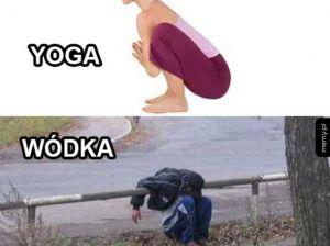 Yoga kontra wódka