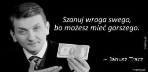 Janusz Tracz na dziś