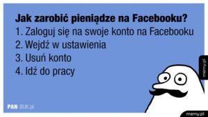 Jak zarobić pieniądze na facebooku?
