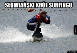 Król surfingu
