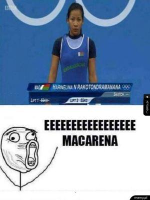 Eeeeeee Macarena...