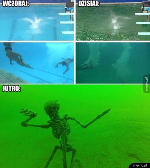 Woda w basenach olimpijskich w Rio: