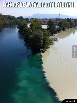 Połączenie dwóch rzek