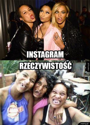 Instagram kontra rzeczywistość