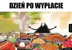 Mnóstwo jedzenia w lodówce