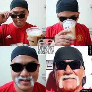 Hulk Hogan Cosplay