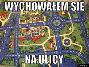 A Ty gdzie się wychowałeś?