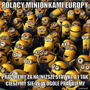 Minionki Europy