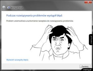 Problem z problemem, spowodowany przez problem...