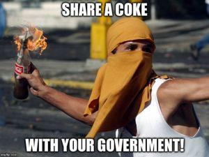 Podziel się Colą ze swoim rządem