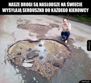 Polskie drogi są urocze