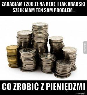 Problem z pieniędzmi