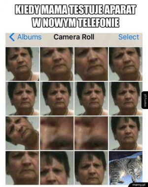 Mama i smartfon