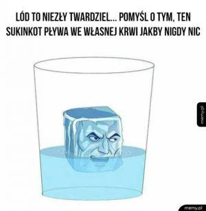 Lód jest twardy
