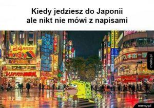 Kiedy jedziesz do Japonii