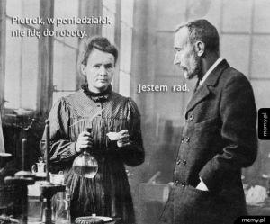 Nawet Curie strajkuje!
