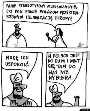 Stereotypowy  muzułmanin