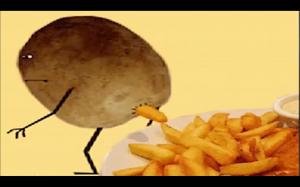 Jak poswatają frytki