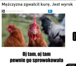 Wyzywająca kura