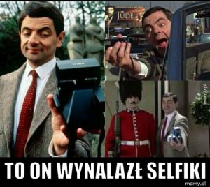 To on wynalazł selfiki