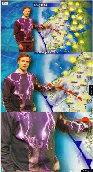 Dowcipny Prezenter Pogody z Miami