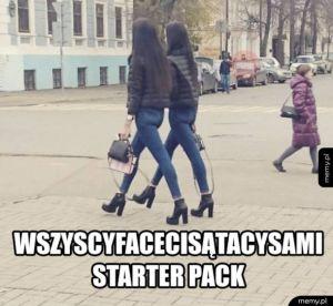Wszyscy faceci są tacy sami - starter pack