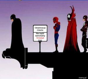 Taras widokowy dla superbohaterów