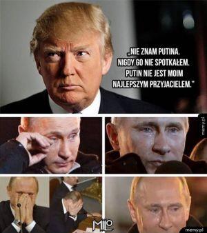 Trump rani Putina