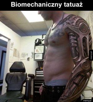 Niesamowicie wykonany tatuaż