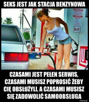 Jak stacja benzynowa
