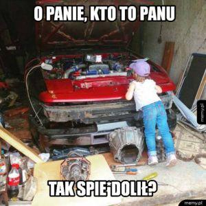 Typowa wizyta u mechanika