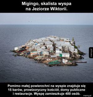 Migingo – skalista wyspa na Jeziorze Wiktorii
