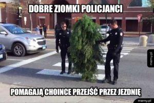 Dobre ziomki policjanci